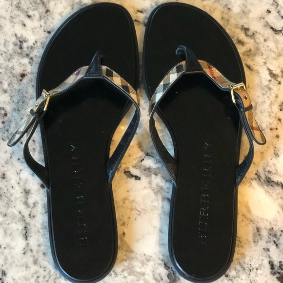 12ce7dc1ef7c Burberry Shoes - WEEKEND SALE     Burberry Thong Sandals